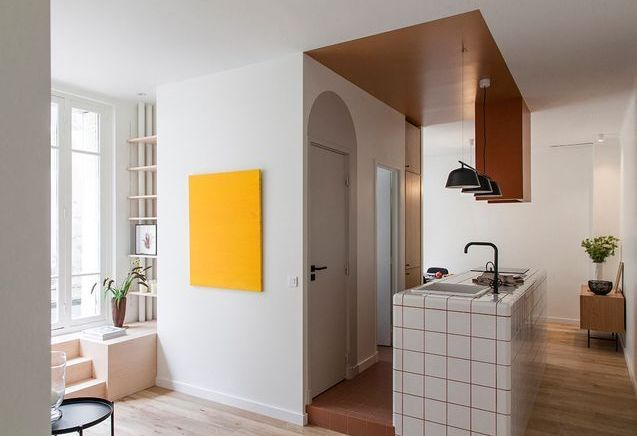 Avant/Après : un rez-de-chaussée ultra-lumineux s'offre une cuisine de caractère