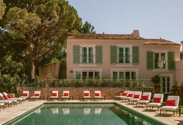 L'Hôtel Lou Pinet, le charme solaire de Saint-Tropez