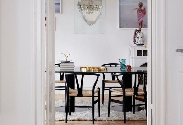 À Copenhague, cet appartement allie le haussmannien et le scandinave