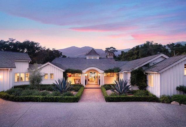 Esprit bohème et élégance pour la villa de Meg Ryan