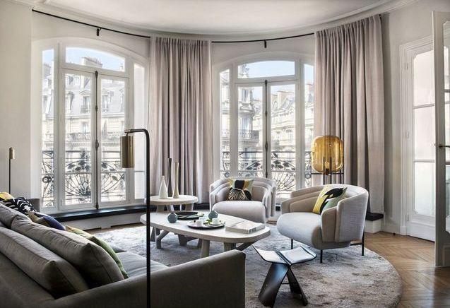 Un appartement haussmannien moderne et très élégant