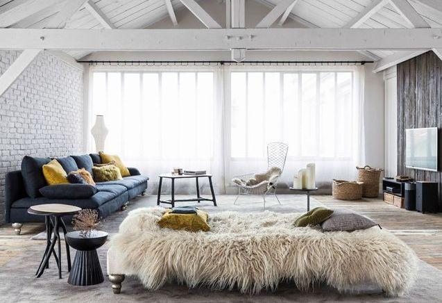 chalet elle d coration. Black Bedroom Furniture Sets. Home Design Ideas