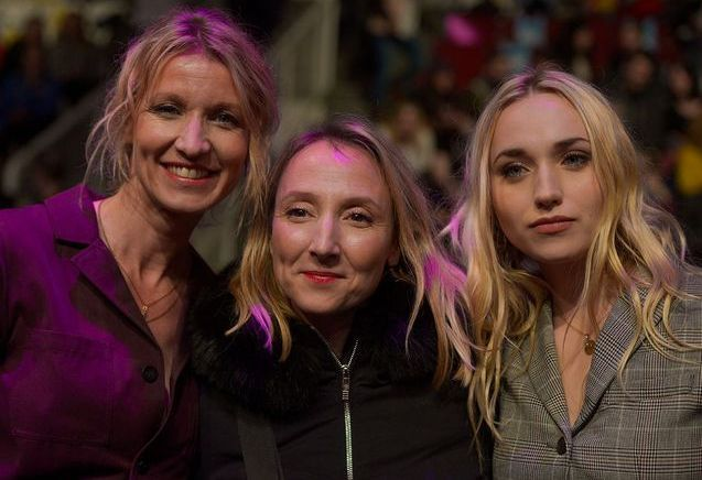 Audrey Lamy, et Alexandra Lamy et sa fille Chloé : complicité au festival de l'Alpe d'Huez !