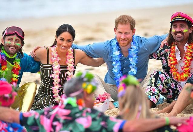 Meghan Markle : les photos surprenantes de sa sortie de surf avec le prince Harry !