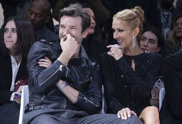 Céline Dion, star de la Fashion Week de Paris avec Pepe Munoz