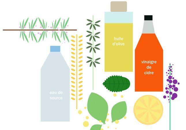 Faciles et économiques : nos recettes de shampoings et après-shampoings maison