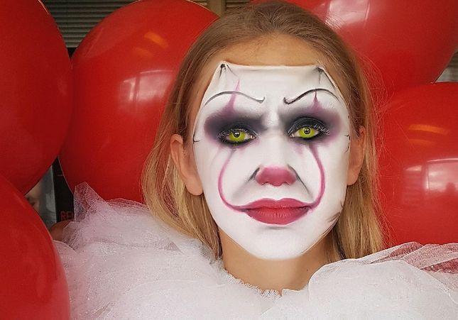 Comment se faire le maquillage du clown Ça pour Halloween
