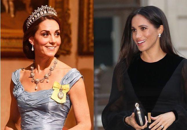 Kate Middleton et Meghan Markle, éblouissantes à l'anniversaire du prince Charles