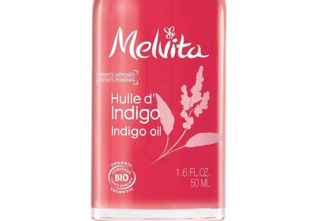 #ELLEBeautyCrush : la gamme Melvita à l'huile d'Indigo, qui apaise le cuir chevelu et ravive notre coloration