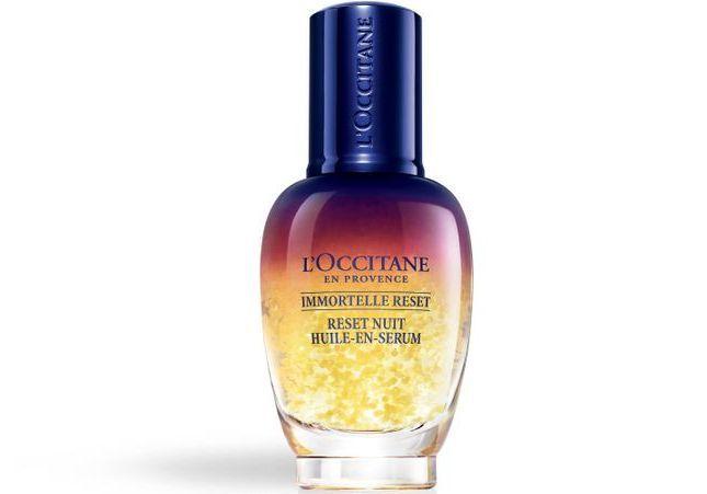 #ELLEBeautyCrush : « Immortelle Reset » de l'Occitane en Provence, le sérum pour un teint lumineux au réveil