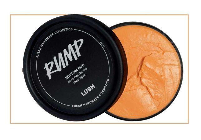 #ELLEBeautyCrush : on assure ses arrières avec la crème Rump de Lush