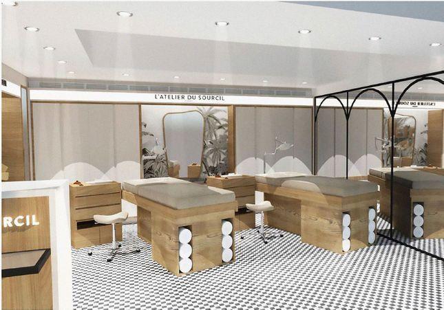 #ELLEBeautySpot : L'Atelier du Sourcil ouvre son premier corner au Printemps