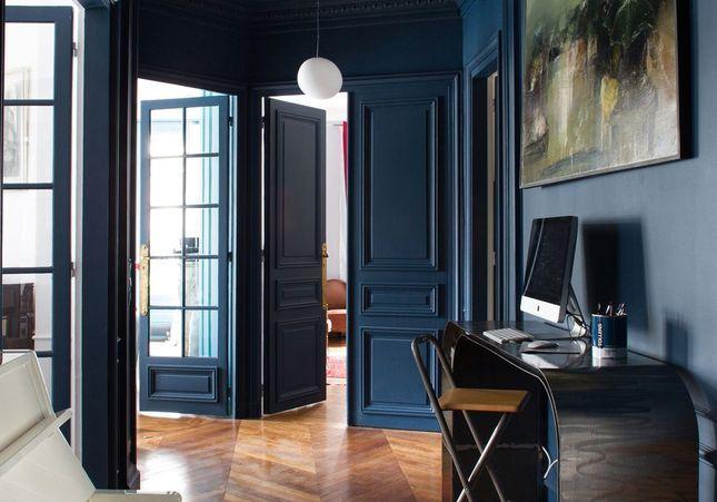 Déco : bleu marine is the new black !