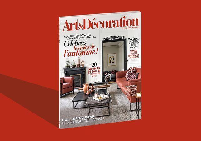 Une maison qui nous veut du bien ! avec le nouveau numéro d'Art & Décoration