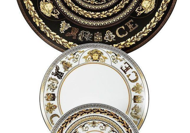 Versace Home : la nouvelle ligne de vaisselle 100 % baroque