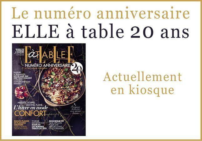 ELLE à Table fête ses 20 ans !