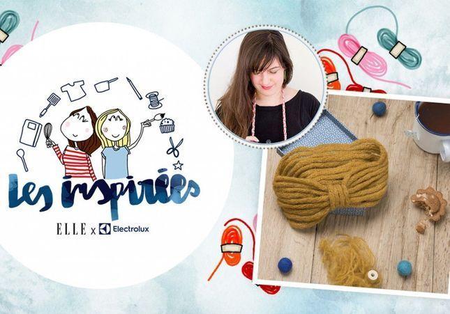 Participez à l'atelier « Tricotin bluffant » pour apprendre à tricoter des accessoires mode et déco