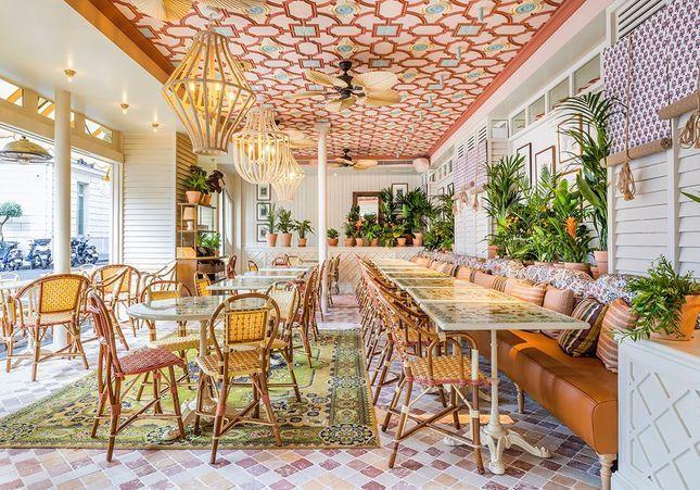 #ELLEfoodspot : le chic luxuriant du restaurant Sir Winston Churchill