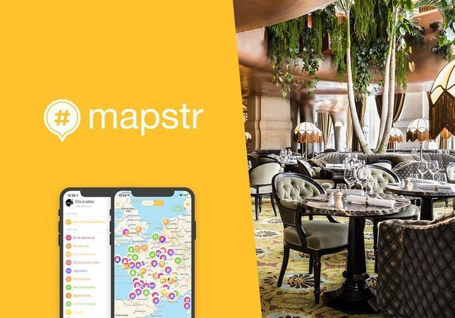 Retrouvez les bonnes adresses ELLE à Table sur MAPSTR !