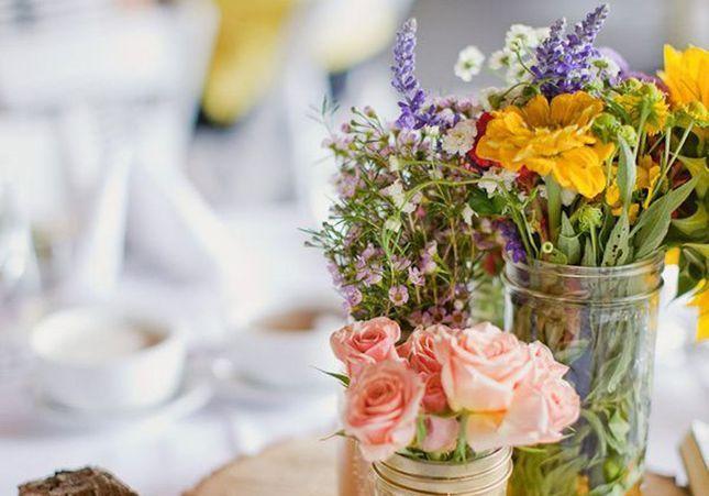 Centre de table : nos 20 jolies idées pour un mariage réussi
