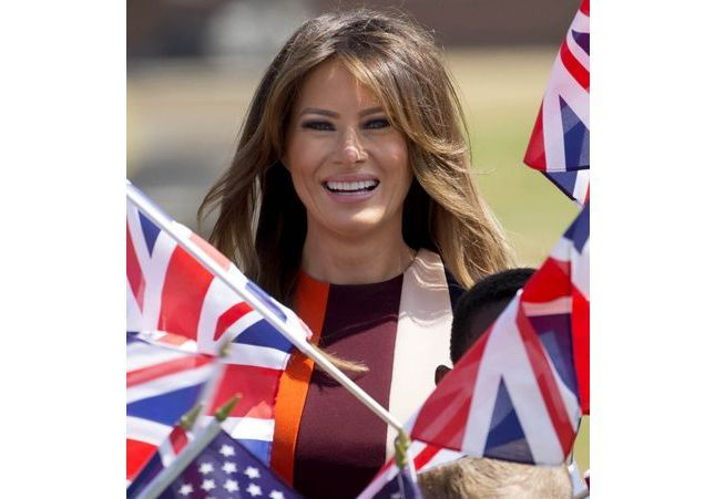 Melania Trump fait son tour d'Europe