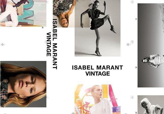 Isabel Marant inaugure sa plateforme vintage