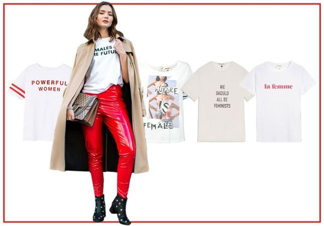 15 T-shirts féministes pour être stylées et engagées