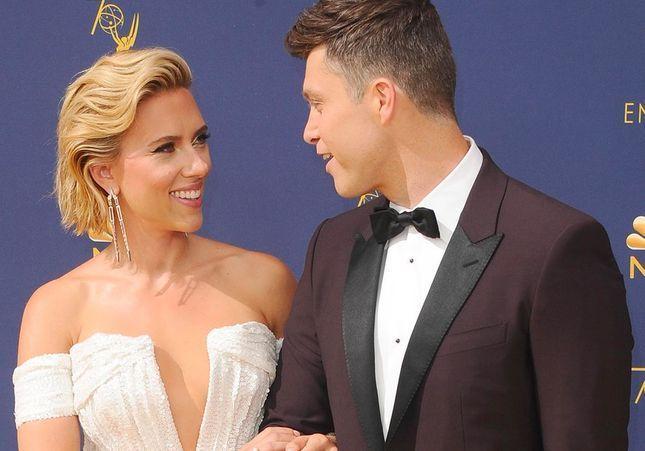 Scarlett Johansson en couple avec Colin Jost : l'amour sur tapis rouge