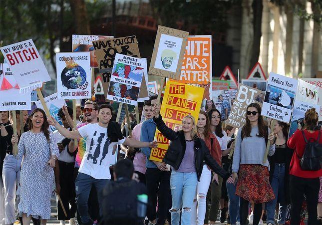 Grèves pour le climat : les étudiants mobilisés comme jamais