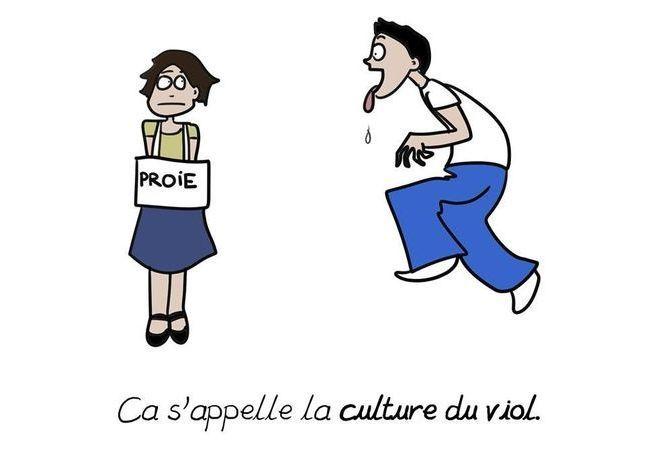 « C'est pas bien, mais… » : la culture du viol dénoncée par la dessinatrice Emma