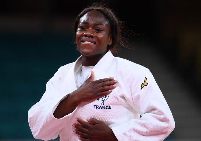 J.O. : la judokate Clarisse Agbégnénou remporte la finale