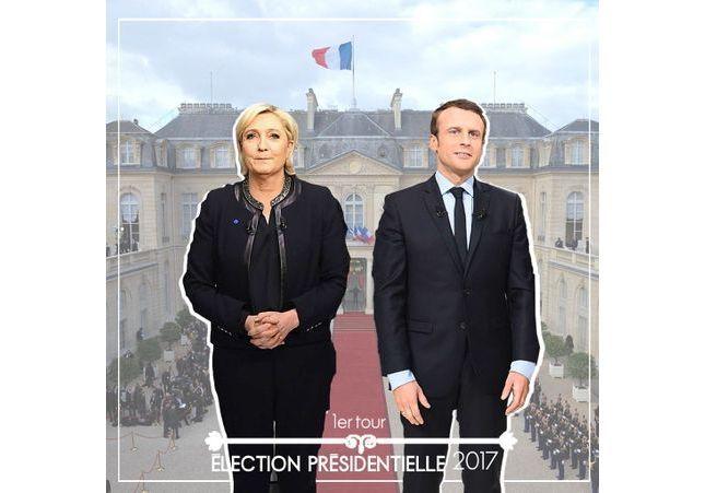 Marine Le Pen et Emmanuel Macron s'affronteront au deuxième tour