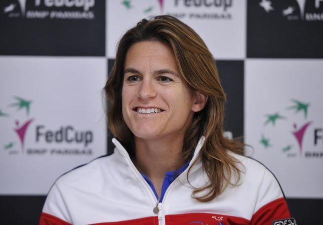 Tennis : Amélie Mauresmo, première femme à la tête de l'équipe de France de Coupe Davis