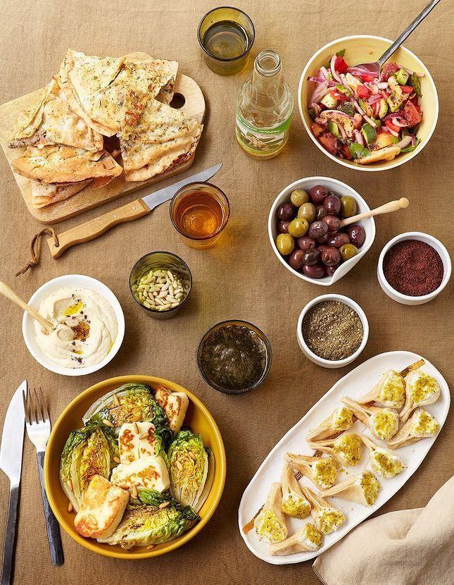 Recettes libanaises cuisine du monde elle table - Cuisine thailandaise recette ...