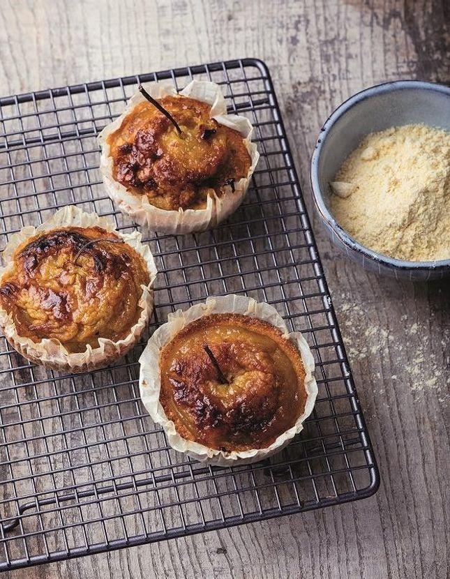 Mini-tartes aux pommes sans gluten