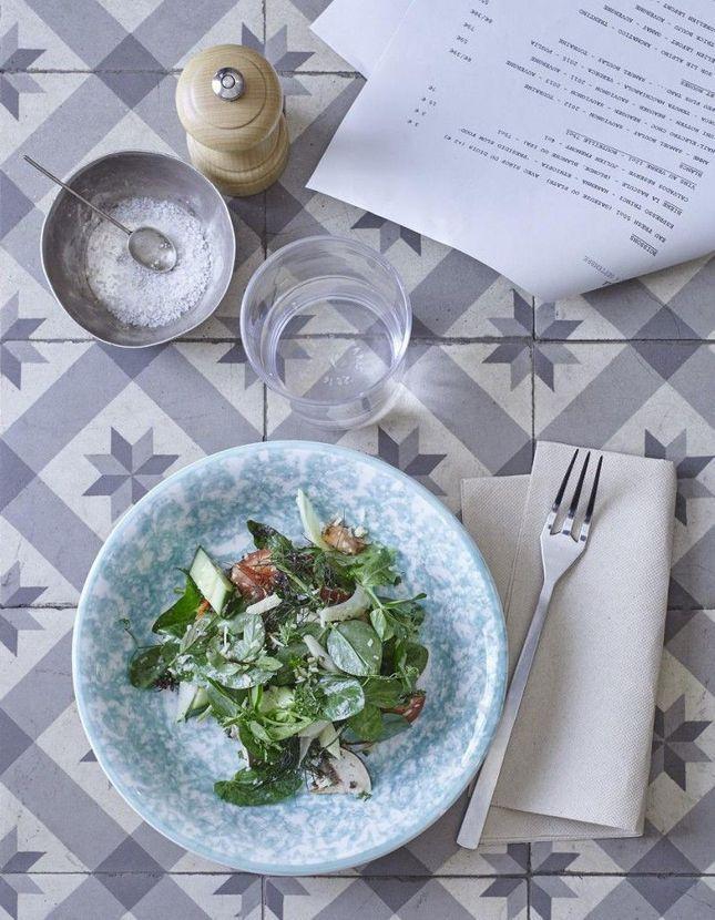 Salade de légumes aux fines herbes