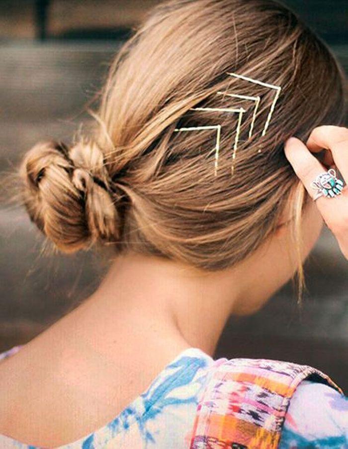 Beliebt Des idées de coiffures faciles - Elle VV25