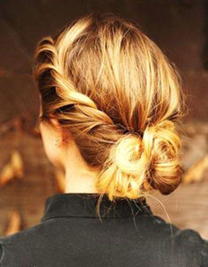 Souvent Des idées de coiffures faciles - Elle GQ72