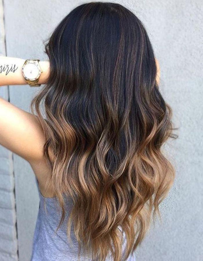Ombr hair brune ombr hair les plus beaux d grad s de couleur elle - Ombre et hair ...