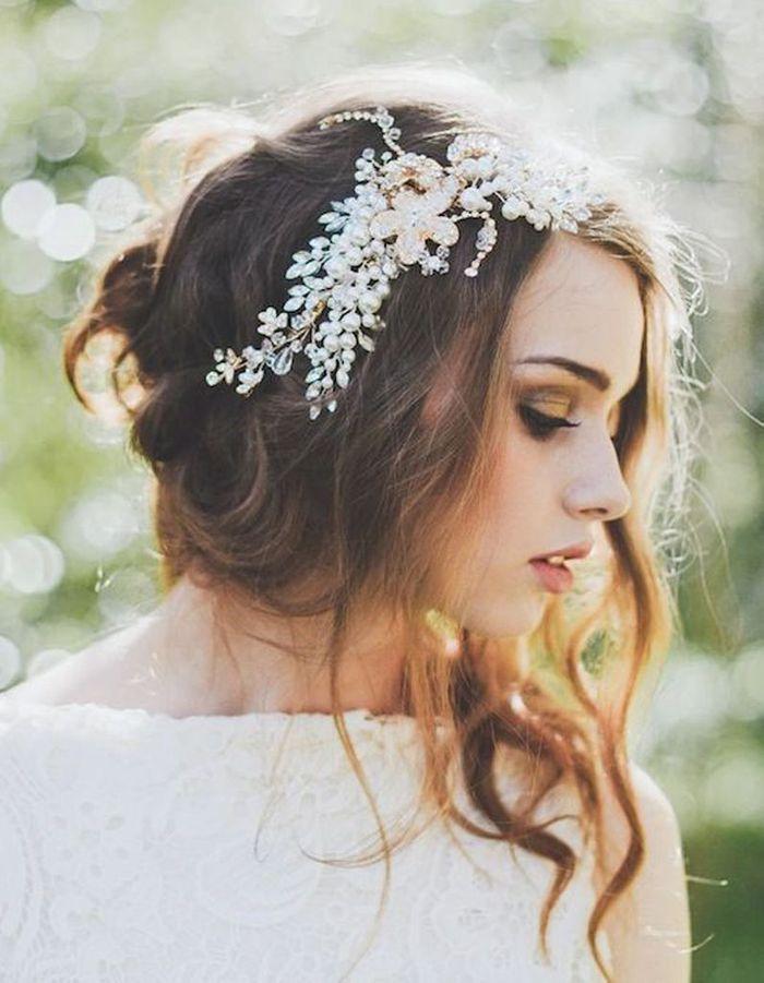 Bien connu Coiffure de mariée Chignon bohème - Les plus jolies coiffures de  HE07