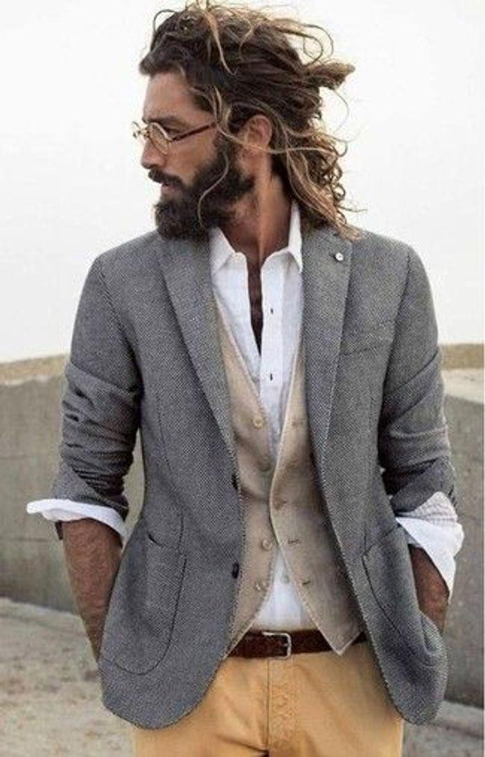 Fabulous Homme barbu cheveux longs - 20 beaux gosses à barbe repérés sur  DC24