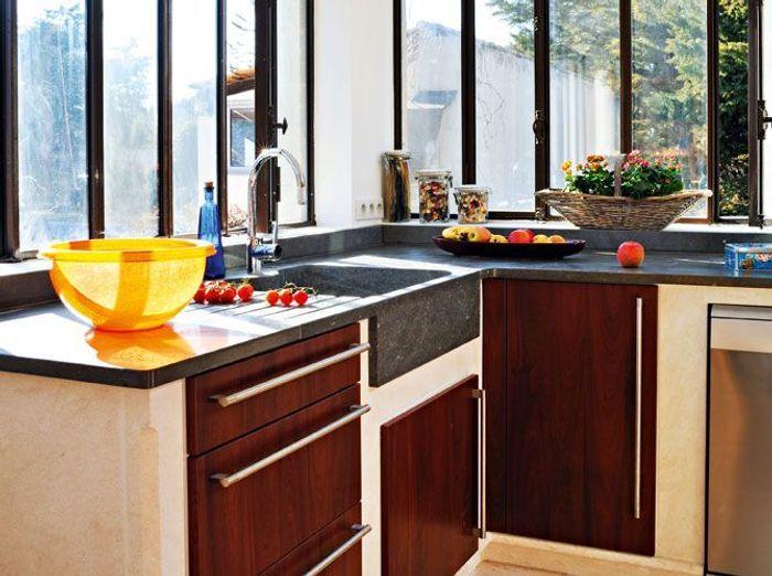 10 cuisines ultra lumineuses elle d coration for Decoration lumineuse fenetre