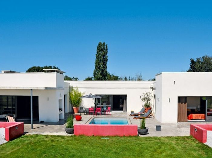 Exceptionnel Visite d'une hacienda contemporaine - Elle Décoration RV81
