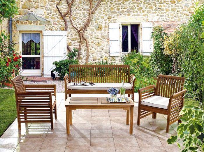 Assez Le jardin fait salon - Elle Décoration SY53