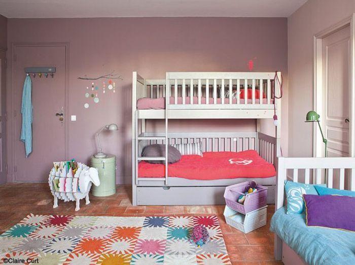 Assez Les 30 plus belles chambres de petites filles - Elle Décoration YP44