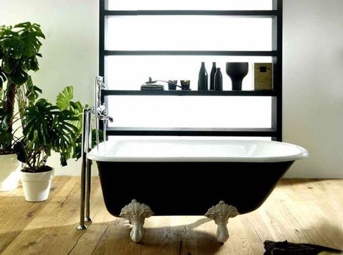 Souvent Les codes de la salle de bains rétro chic - Elle Décoration NF59