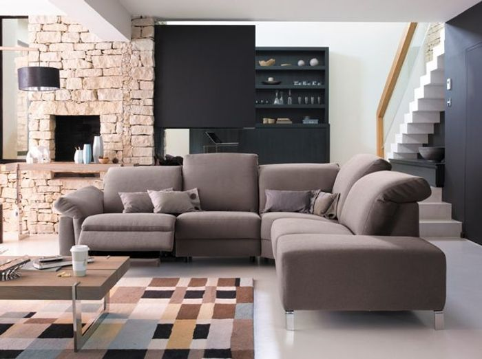 Connu Shopping : notre sélection de 30 canapés d'angle - Elle Décoration YH36