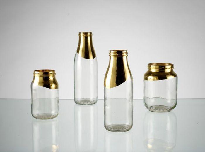 Extrem Les bouteilles en verre relookées en objets déco ! - Elle Décoration UA62