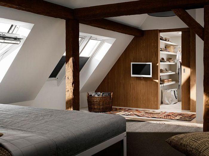 Favori 35 chambres sous les combles - Elle Décoration NN36