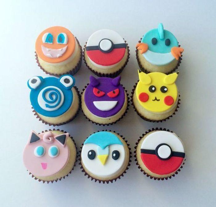 Souvent Cupcakes Pokémon - Quand les gâteaux Pokémon envahissent nos  IB21